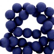 Acryl kralen 4mm dark blue