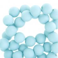 Acryl kralen 4mm sky blue