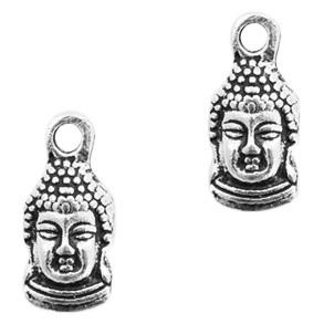 Bedel Buddha klein zilver