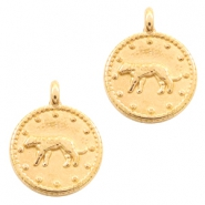 DQ bedel luipaard rond goud
