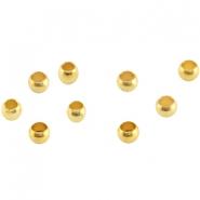 DQ knijpkraal 3mm goud