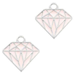Bedel diamant lichtroze