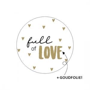 Sticker full of love