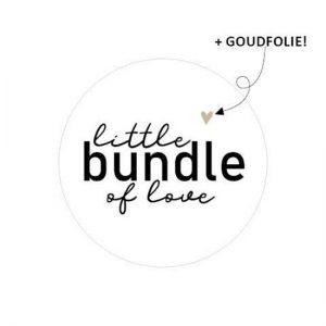 Sticker litle bundle of love