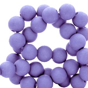Acryl kralen 4mm violet purple