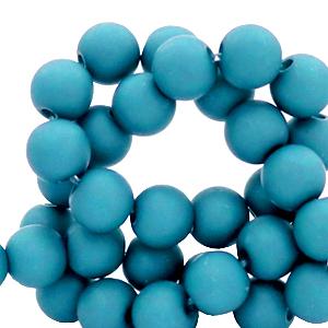 Acryl kralen 6mm blue danube