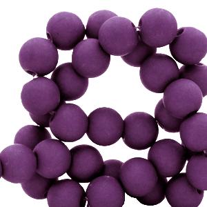 Acryl kralen 8mm tillandsia purple