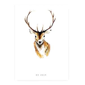Sieradenkaart oh deer