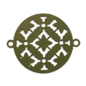Bohemian tussenstuk rond groen