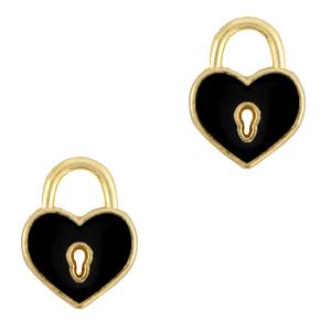 DQ bedel hart zwart goud