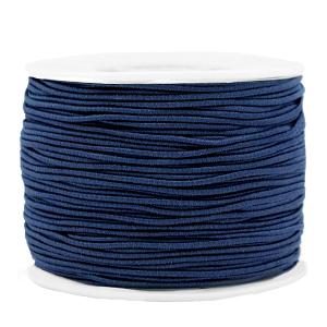 Elastiek 1.2mm dark blue