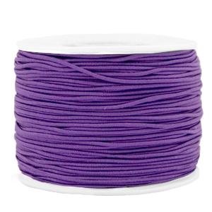 Elastiek 1.2mm purple