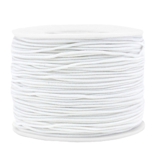 Elastiek 1.2mm white