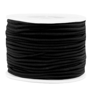Elastiek 2mm black