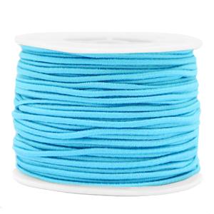 Elastiek 2mm light blue