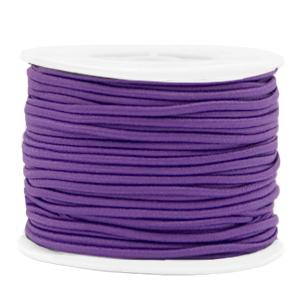 Elastiek 2mm purple