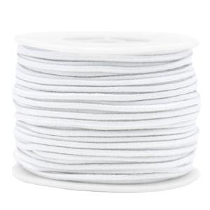 Elastiek 2mm white