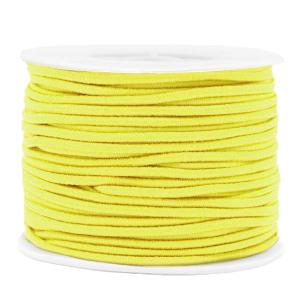Elastiek 2mm yellow