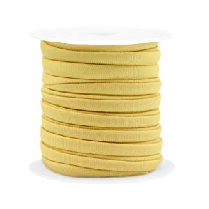 Elastisch Ibiza lint 4mm golden yellow