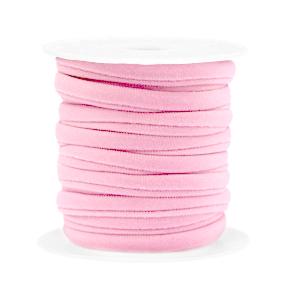 Elastisch Ibiza lint 4mm light pink