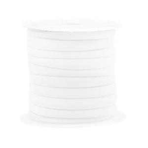 Elastisch Ibiza lint 4mm white